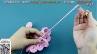 【胖森李阿呆】钩针毛线编织的玫瑰花、新娘手捧花零基础视频教学