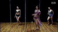 2016年第一支新钢管舞蹈,美女学生激情演绎