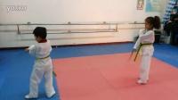 跆拳道綠帶考級20160109