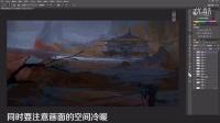 有画快说番外篇之风雪山神庙的绘画过程
