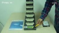 佑华硬盘拷贝机CT-B6001G无限串接1拖5硬盘拷贝机操作介绍-51copy数据处理中心