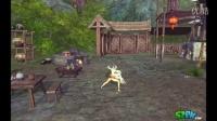 剑灵气宗技能展示-左键技能-寒冰掌(气击姿态)