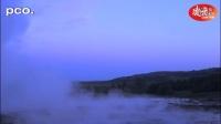 高速相机镜头下的喷泉和瀑布