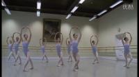 芭蕾基训 瓦岗诺娃学校五年级女班 古典芭蕾考试 2015