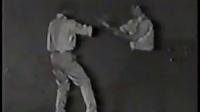 李小龙演练咏春拳小念头片段,李小龙与木村武之演练咏春黐手影像