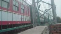 HXD3C牵引309次列车淮滨站3道发车元旦