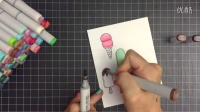 Altenew - How to Make a Cute Handmade Card using Masking Technique