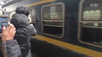 最后一班7102离开南京站