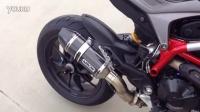 【K频】Ducati Hypermotard 骇道 821 ARROW高清排气声