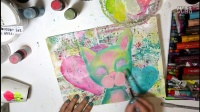 #PAWgustART Cat Love Artjournal Page