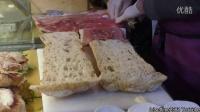 【大吃货爱美食】环球街头美食——超大型意大利帕尼尼三明治~160206