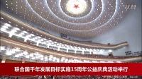 联合国千年发展目标实施15周年公益庆典活动举行-释延豹采访