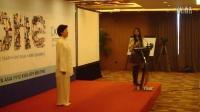 安阳史晓明和陈汉菊老师在北京给韩国学员上课
