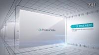 AE02 时间线公司历程宣传模板