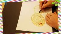 猕猴桃怎么画才像,如何教宝宝学水彩笔简笔画画,乐成宝贝