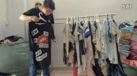 梵莱尼夏季杂款女装各类T恤,裙子雪纺衫视频展示,质优价廉,小本创业首选