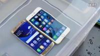 「科技发现」三星Galaxy S7与iPhone 6S防水测试 Galaxy s7edge体验评测