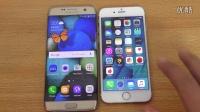 「科技发现」三星galaxy s7edge与iPhone 6S 速度测试 体验评测
