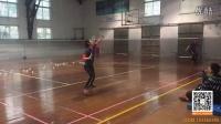 经典羽毛球训练慢动作3(杀球,劈吊)