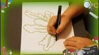 画茼蒿菜,儿童少儿画画基础教程视频,教幼儿学绘画的步骤,乐成宝贝