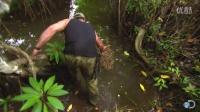 野外求生荒野生存陷阱很实用的捕螃蟹陷阱打猎很容易