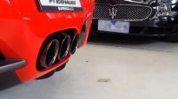 法拉利458 Italia 改装 Fi Exhaust 排气管原地轰油声浪!!!