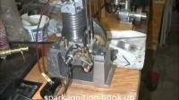 玩发动机者复制1936年单缸4冲程汽油机