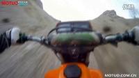 【摩托车之家】实拍川崎KX250铃木ts125x和雅马哈dt125玩泥巴和爬坡