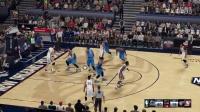 《NBA2K16》詹韦连线窒息防守