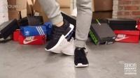Adidas NMD Runner Black White 上脚欣赏