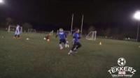 U6-U8青少年足球一对一对抗练习集锦