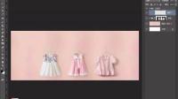 2016淘宝美工教程——夏季童装海报制作教程,  女男童装海报制作 Photoshop教程 ps教程