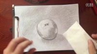 如何绘制铅笔素描(苹果)