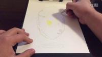 怎么画一个完美的3D立体画(漂浮的荷包蛋)