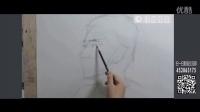 素描头像中国美院朱一潭州艺术学院教学(一)