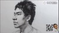 素描头像中国美院朱一潭州艺术学院教学(三)