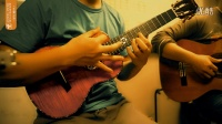 【哈里里】ukulele指弹曲谱集演示-《千里之外》