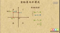 初一数学:不等式与坐标系综合