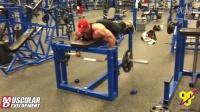 Dallas McCarver赛前9周背部训练 - 硬拉765磅
