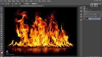 PS教程 进阶教程 火焰合成 燃烧人物合成 photoshop 修图 调色 PS蒙版灵活 PS扣图调色