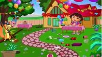 爱探险的朵拉系列游戏之生日派对大扫除小主公解说