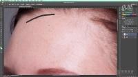 PS高手教程 1人物脸部 磨皮教程 人像精修 修图调色五官修饰 商业修图摄影后期