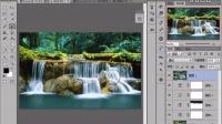 PS教程 案列进阶教程 PS色彩 可选颜色 曲线 风景蓝黄色调 photoshop实例教程