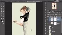 PS教程 文字情人 PS通道扣图 置换滤镜 PS合成特效 photoshop实例教程