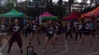 梧州学院1021街舞团招新A4篮球场即兴show