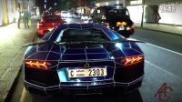 {虾米碗糕哦} - 汽车-超级跑车 - 伦敦街头蓝色兰博基尼Aventador   1/24