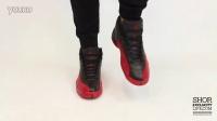 Air Jordan 12 Retro 'Flu Game' AJ12 病倒 黑红 上脚欣赏