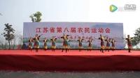 转载   泰州广场舞《站在草原望北京》