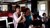 (周菊红、齐梅花)首唱《我的祖国》宜春市温汤镇玉盘大酒店