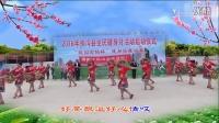 """2016扶沟县""""珑园古镇杯""""健身操舞决赛红颜百媚广场舞《茶香中国》"""